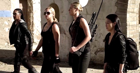 Tiffany Panhilason Mercenaries