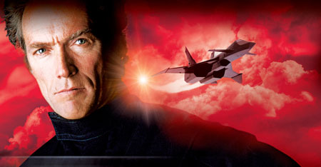CLINT EASTWOOD flies a Soviet Thought Jet in 1982's FIREFOX